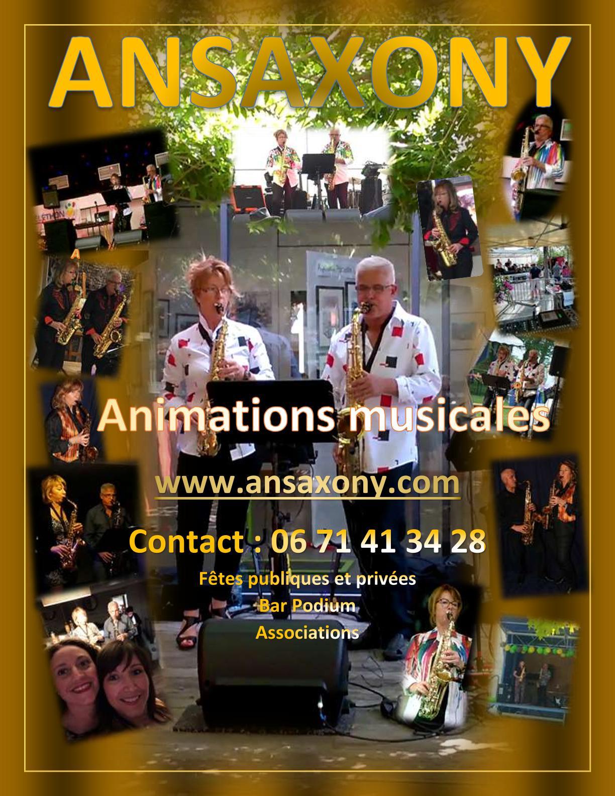 Image Ansaxony: des concerts gratuits aux associations et manifestations caritatives