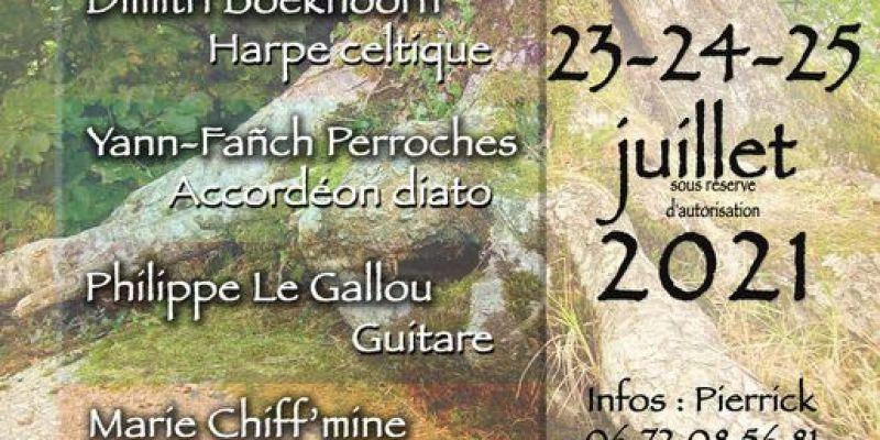 Stage dété en Brocéliande : Musique, contes et danses bretonnes
