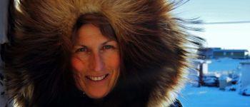 Projection : \passagère de l\Arctique\ d\Anne Quéméré La Forêt-Fouesnant