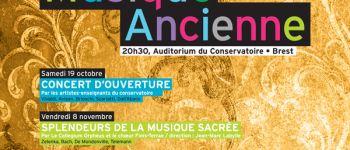 Journées de musique ancienne : Les caractères Brest