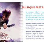Animation: \Musique métal et préjugés\ Morlaix