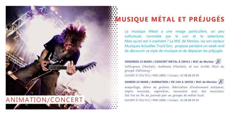 Concert: Musique métal et préjugés