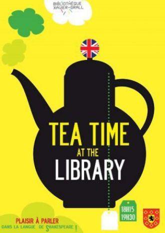 Tea Time at the library Landivisiau