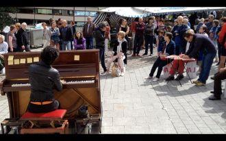 Impromptus musicaux avec Florence Pavie à Dinan Dinan