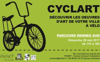 Cyclart- Découvrir les oeuvres d\art du quartier Sud en vélo Rennes