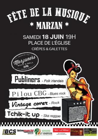 Fête de la musique à Marzan MARZAN