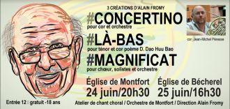 Concert de musique classique Montfort-sur-Meu