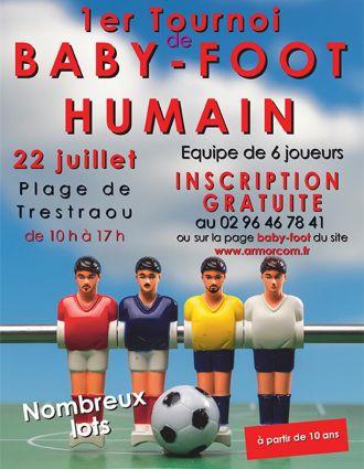 Tournoi de baby-foot humain Perros-Guirec