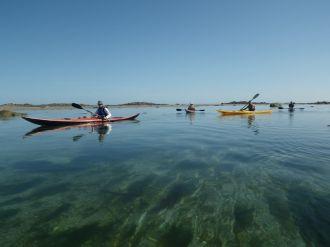 Balades en Kayak avec le Centre Nautique Roscoff