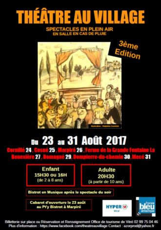 Théâtre au Village 3ème édition Vitré