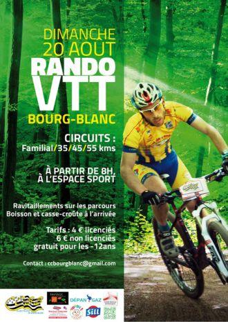 Rando VTT Bourg-Blanc