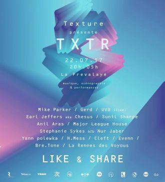 Texture présente TXTR Rennes