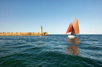 Sortie en mer « privilège » à bord du vieux gréement Le Rigel Binic