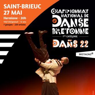 Dans 22 : spectacles de danses bretonnes Saint-Brieuc