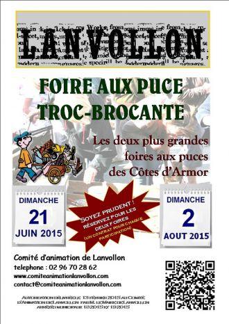 Fête Foraine de la Saint Jean et Foire aux Puces Lanvollon