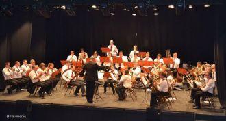 Concert de la Fanfare Harmonie de Nisme Châtillon-en-Vendelais