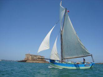 Excursion en baie de Morlaix : Amzer\zo, voilier traditionnel Plougasnou