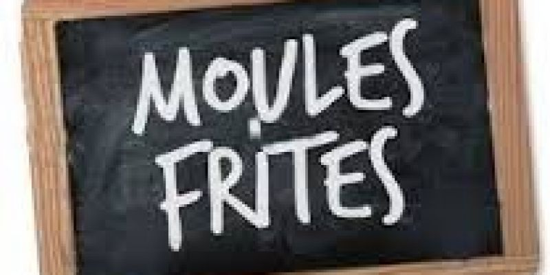 Repas Moules-Frites