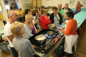 Atelier cuisine de la pêche du jour par Scarlette Le Corre - Haliotika Guilvinec