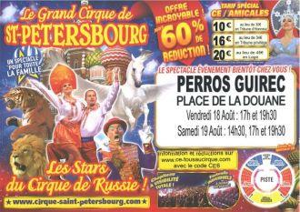 Grand Cirque de Saint-Petersbourg Perros-Guirec