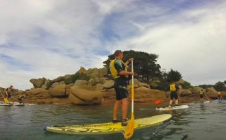 Visite Guidée de la baie Ste Anne en Stand Up Paddle Trégastel