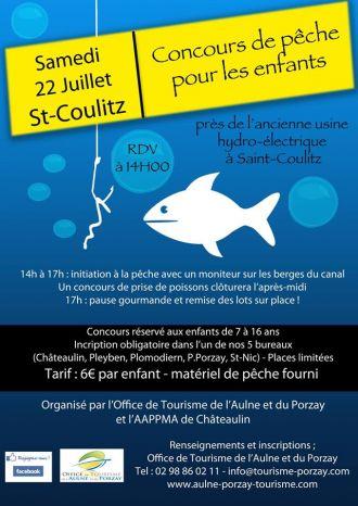 Concours et initiation à la pêche pour les enfants Saint-Coulitz