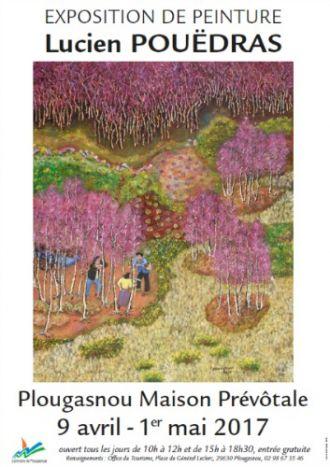 Exposition: \La mémoire des landes\ par Lucien Pouëdras Plougasnou