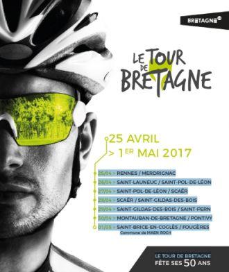 Scaër ville étape et ville départ du tour de Bretagne cycliste 2017 Scaër