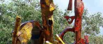 Sculptures sur métal - Michadu