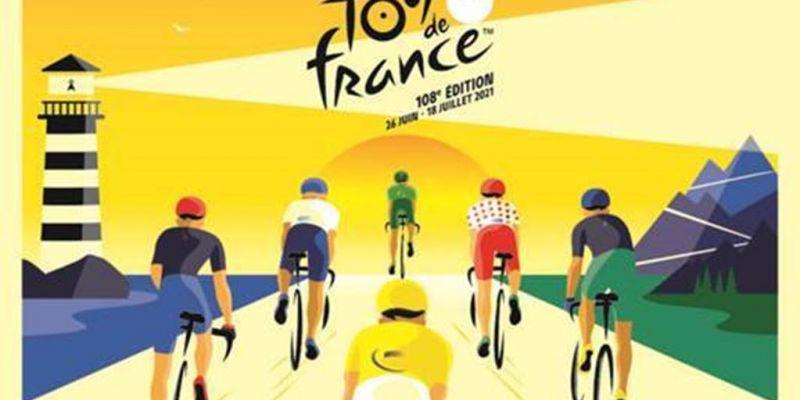 Passage du Tour de France à Auray