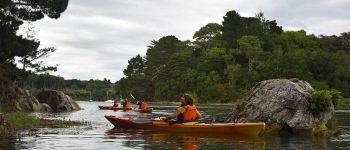 Balade nautique kayak au croisement de la rivière d\Auray et du Bono BONO