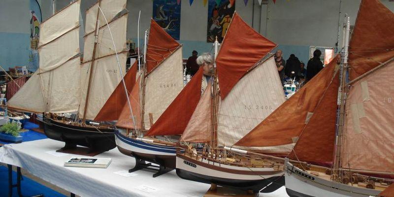 Exposition de maquettes de bateaux