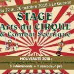 Stage de cirque et combat scénique à Le Guerno LE GUERNO