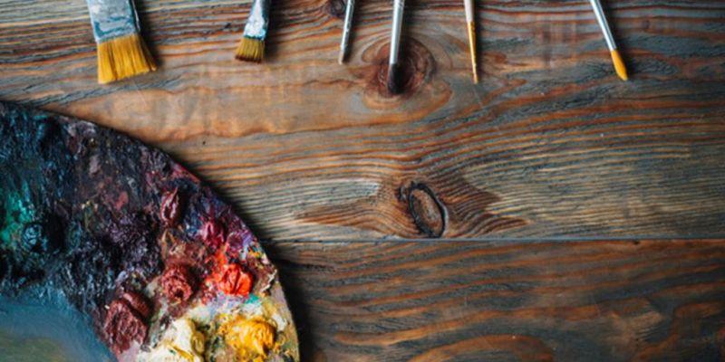 Exposition de peintures  et dart floral
