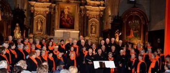 Concert Chorales Caecilia et Richmond Community Choir AURAY