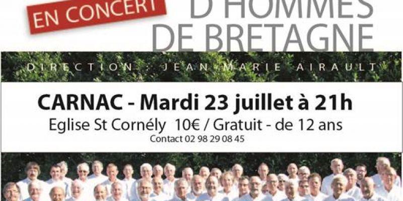 Concert: Choeur dhommes de Bretagne
