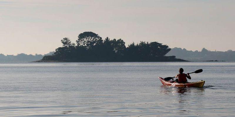 Balade nautique kayak du matin en rivière dAuray
