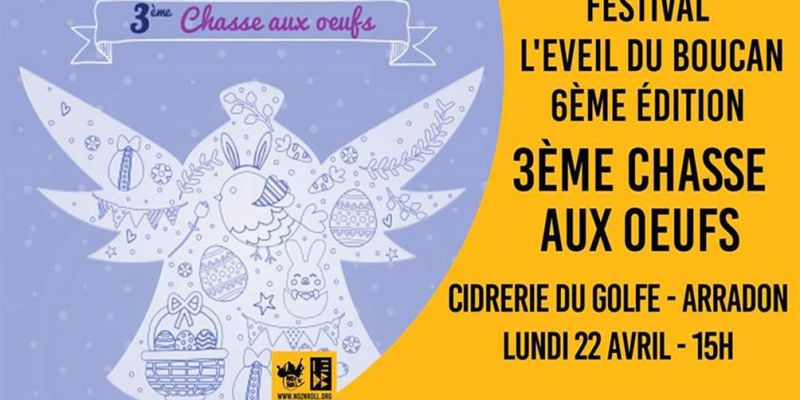 Festival lEveil du Boucan #6 : Chasse aux oeufs