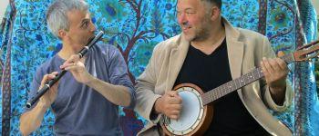 Phil\Hocine (world music poetique) au Petit Café dans la Prairie THEIX-NOYALO