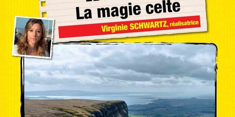 Projection  Irlande, la magie celte