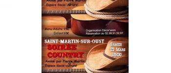 Soirée Country à Saint Martin Sur Oust ST MARTIN SUR OUST