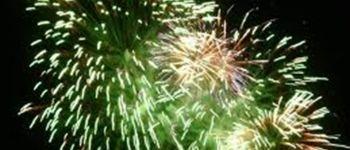 Feu d\artifice du 14 juillet - Locmariaquer LOCMARIAQUER