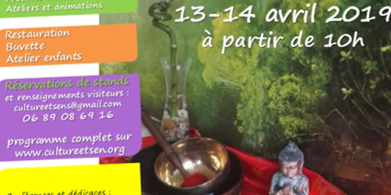 Salon bien-être, santé et arts énergétiques Culture&senS