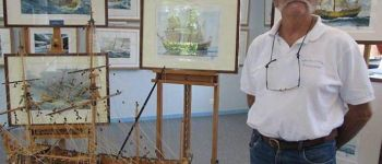 Exposition du peintre Raffin Caboisse ILE DARZ