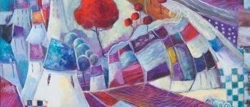 Exposition Emmanuelle Brett Peinture et gravure SARZEAU