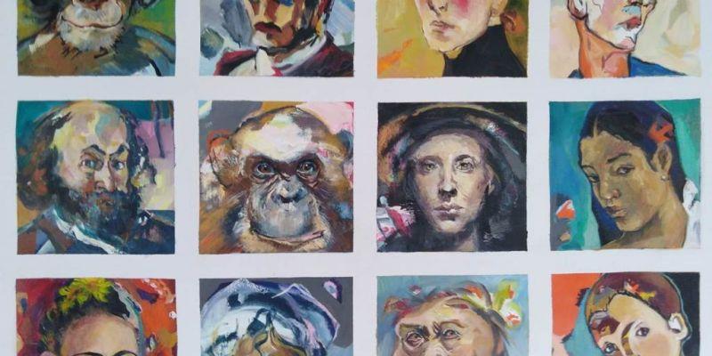 Exposition  Expression  de Lutina Pansard