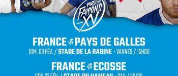 Rugby - Tournoi des 6 nations U20 : France - Pays de Galles VANNES