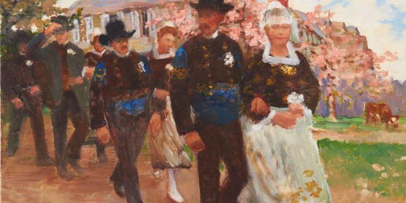 Croquez Vannes ! : Au musée des Beaux-Arts : Exposition Joseph-Félix Bouchor, peintre-instants de vie
