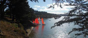 Balade autour de Port-Blanc avec Jackie BADEN
