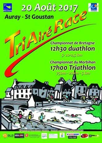Tri Alré Race - Championnat de Triathlon et de ducathlon - Saint-Goustan Auray AURAY
